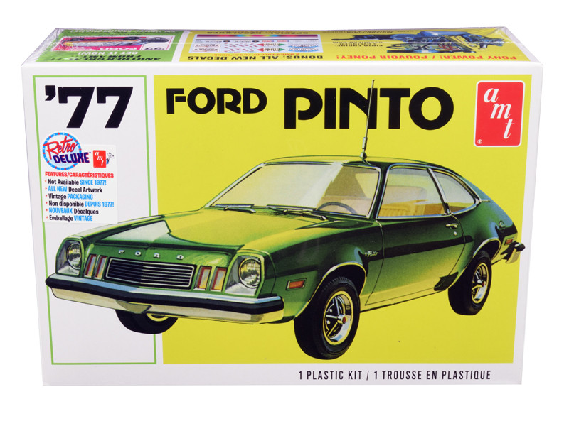 Skill 2 Model Kit 1977 Ford Pinto 1/25 Scale Model AMT AMT1129 M