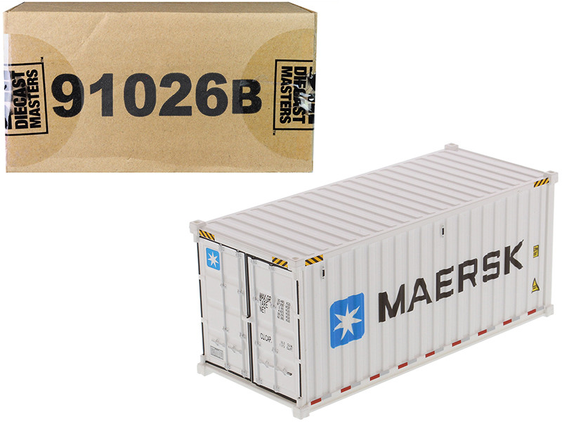 20' Refrigerated Sea Container MAERSK White Transport Series 1/50 Model Diecast Masters 91026 B