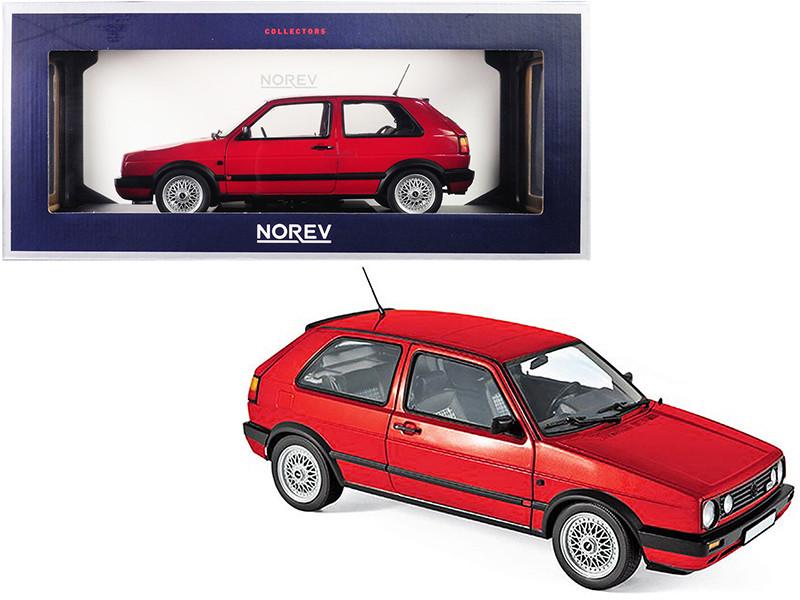 1990 Volkswagen Golf II GTI Red 1/18 Diecast Model Car Norev 188438