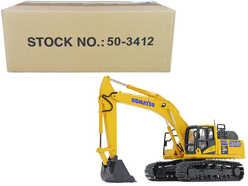 Komatsu HB365LC-3 Hybrid Excavator 1/50 Diecast Model First Gear 50-3412