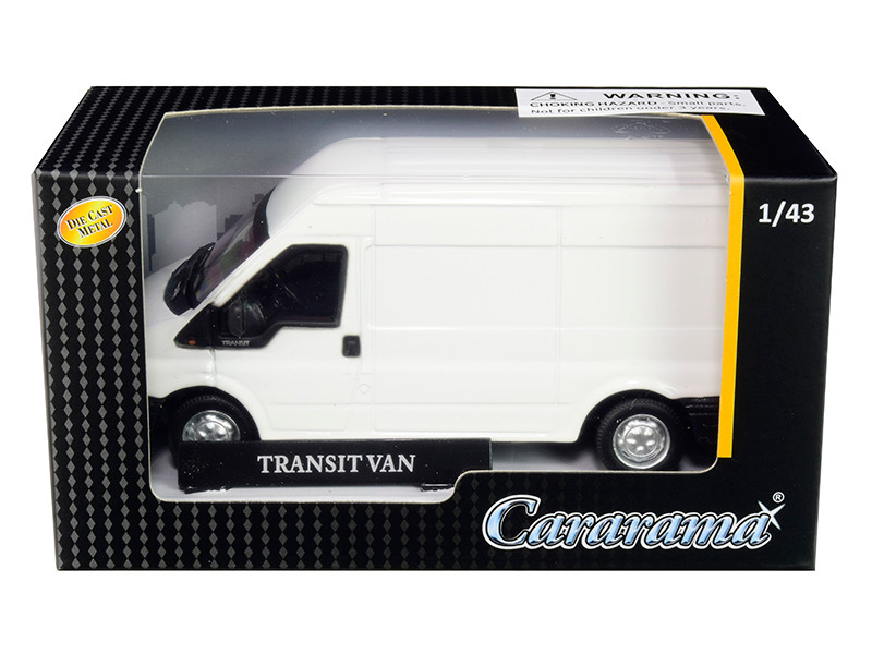Transit Van White 1/43 Diecast Model Car Cararama 46560