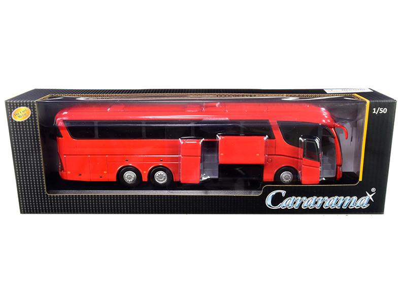 Scania Irizar Pb Bus Red 1/50 Diecast Model Cararama 57702 R