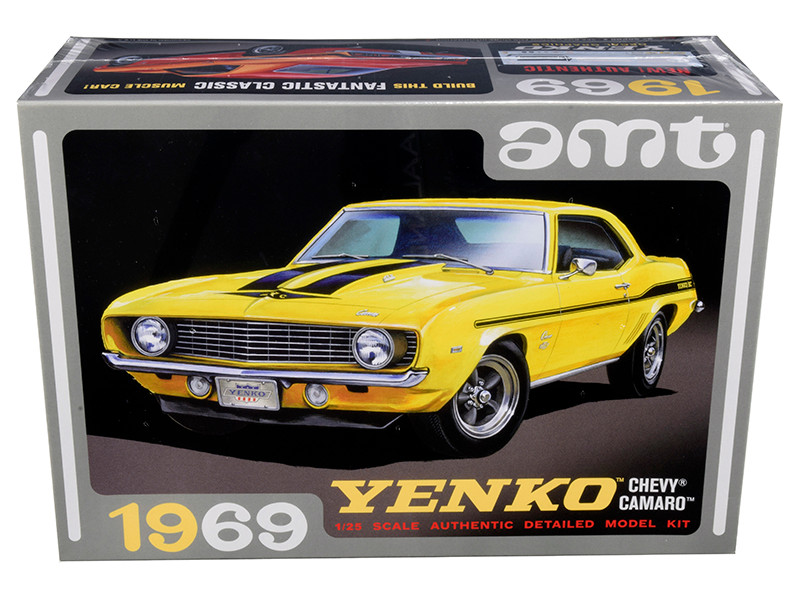 Skill 2 Model Kit 1969 Chevrolet Camaro Yenko 1/25 Scale Model AMT AMT1093