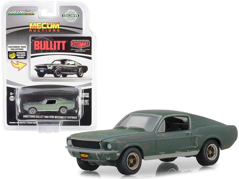 "1972 FORD RANCHERO GT GOLDENROD YELLOW /""MECUM AUCTIONS/"" 1//64 GREENLIGHT 37190 D"