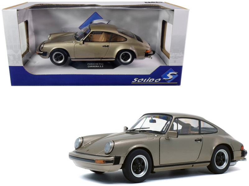 1977 Porsche 911 3.2 Carrera Bronze Metallic 1/18 Diecast Model Car Solido S1802602