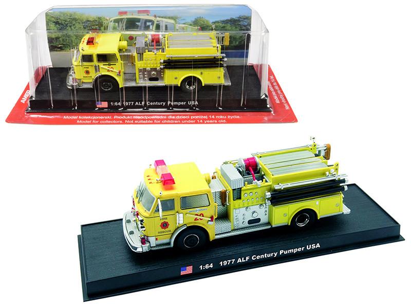 1977 American LaFrance ALF Century Pumper Fire Rescue Engine Miami-Dade Florida 1/64 Diecast Model Amercom ACGB05