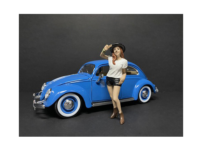 Partygoers Figurine I for 1/18 Scale Models American Diorama 38221