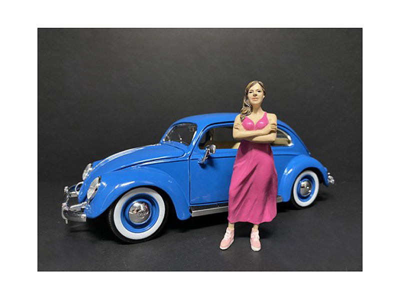 Partygoers Figurine II for 1/18 Scale Models American Diorama 38222