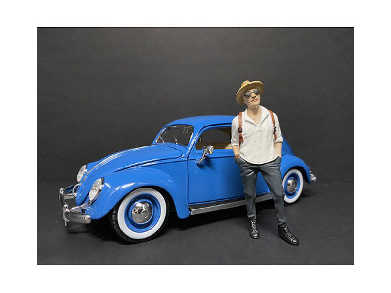 Partygoers Figurine III for 1/18 Scale Models American Diorama 38223