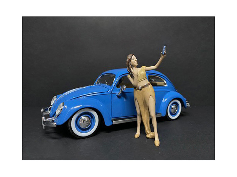 Partygoers Figurine V for 1/18 Scale Models American Diorama 38225