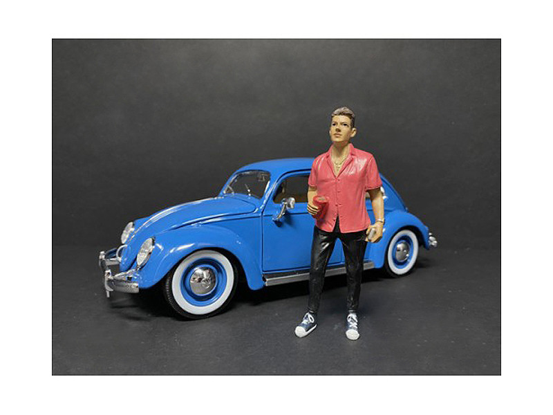 Partygoers Figurine VI for 1/24 Scale Models American Diorama 38326