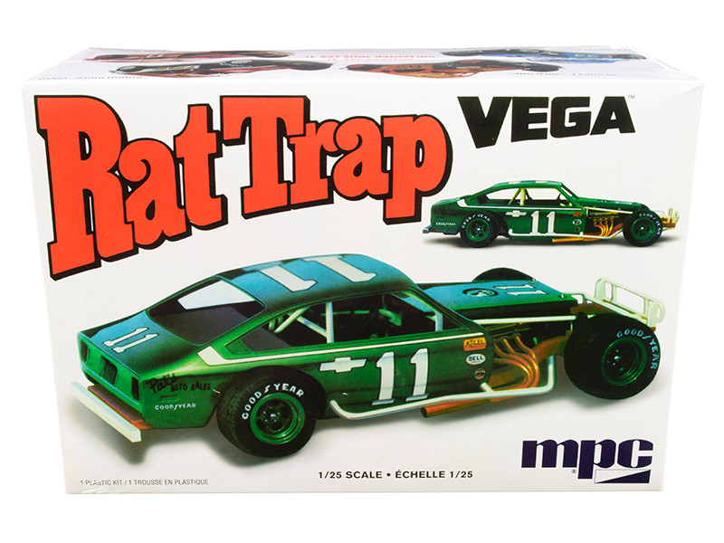 Skill 2 Model Kit Chevrolet Vega Modified Rat Trap 1/25 Scale Model MPC MPC905 M