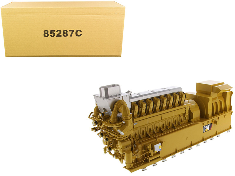 CAT Caterpillar CG260-16 Gas Engine Generator Core Classic Series 1/25 Diecast Model Diecast Masters 85287 C