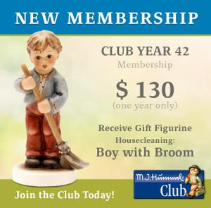 New Membership (Club Year 42)