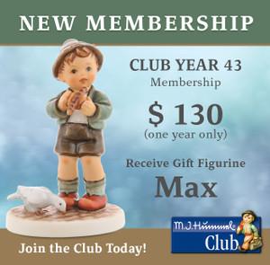 New Membership (Club Year 43)