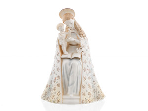 Flower Madonna (Special Decoration) - Hum 10/I