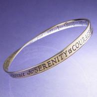 Serenity Prayer Mobius Bracelet