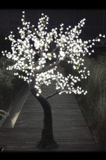 7' Warm White Light Blossom Tree