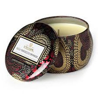 Voluspa Goji & Tarocca Orange Travel Tin Candle