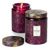 Voluspa Santiago Huckleberry Glass Jar Candle