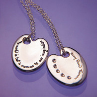 Thoreau Art Palette Necklace