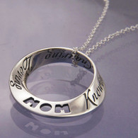 Things That Are Mom Mobius Necklace