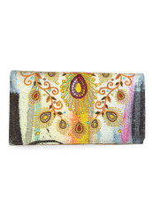 Moroccan Peacock Wallet by PAPAYA!