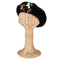Wool Beret with Jeweled Bugs
