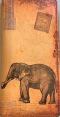 Viaggio Elephant Wallet Vegan Leather