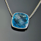 Topaz Necklace by A.Cleoni