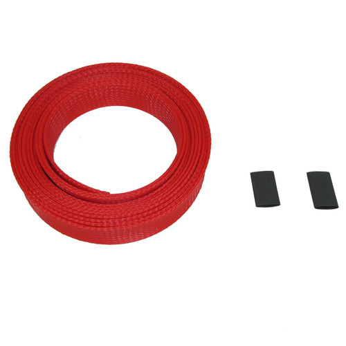 Build custom length rod covers for that perfect fit.  Each kit comes with 1 12' section of material and 2 sections of heat shrink tubing.