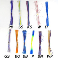 Pro Swim Jig Skirts (22 Strands)