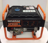 Generac 6,500-Watt Gasoline Powered Portable Generator Sales Floor Demo Model