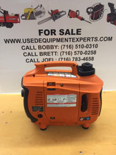 GENERAC 2000W GAS PORTABLE INVERTER GENERATOR QUIET SAFE 126CC New MODEL