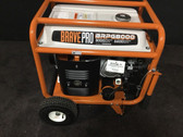 Brave Pro BRPG8000-6600 Running Watt Generator Honda GX390 Engine Back Up Power
