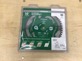 Hitachi Viper 10-in 60-Tooth Miter Saw Wood Cutting Fine Finish Commercial Blade