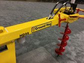 New Ground Hog HD99-H Hydraulic Drill Auger Towable Post Hole Commercial Digging