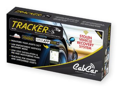 CabCar RD350 Tracker Plus - Battery Powered - CabCar com au