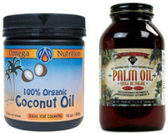 Coconut and Red Palm Oil Set
