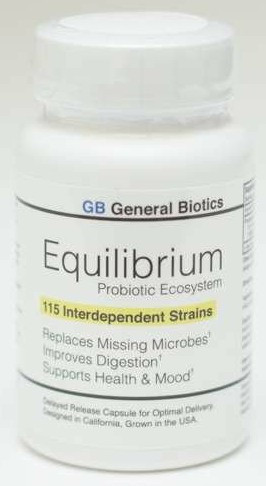 Equilibrium -  115 Probiotics Commonly Missing from the Microbiome in Industrialized Societies