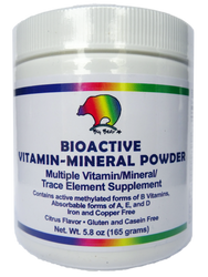 Bioactive Vitamin Mineral Supplement - Powder or Capsule