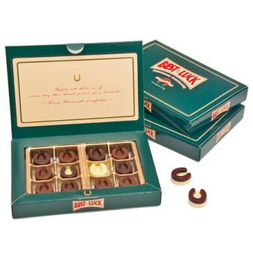 Horseshoe Chocolates gift box Collection of 12
