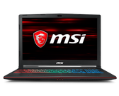 "MSI GE63 LEOPARD, 15.6"" FHD (1920x1080), i7-8750H Processor, 2.2GHz, 16GB RAM, 1TB Hard Drive and 256GB Solid State Drive, Nvidia GTX 1060"