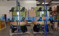 Sistema de Filtración por Carbón Activado 216 GPM - Nueva Zelanda