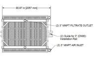 Membrana HYDRAsub MAX HSMM1600-ES