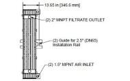 Membrana HYDRAsub MAX HSMM200-ES