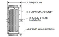 Membrana HYDRAsub MAX HSMM400-ES