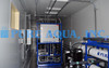 SWRO de Doble Paso en Contenedor con Sistema EDI 110 GPM - Turkmenistán