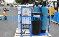 Máquina Ósmosis Inversa para Agua Salobre Montado en Estructura 4,500 GPD - Sudáfrica