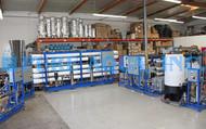 Sistemas de Tratamiento de Agua Ósmosis Inversa y Electrodesionización 10 m3/Hr - Irak